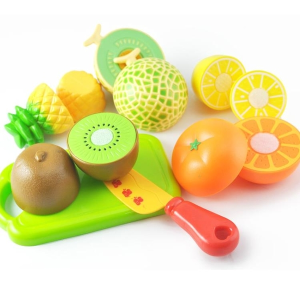 兒童過家家玩具寶寶切水果蔬菜切切樂套裝組合仿真廚房玩具男女孩