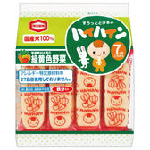 【效期19.08.29】龜田製果 嬰兒米果/米餅 蔬菜風味53g(7個月)