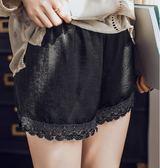 花邊蕾絲安全褲 防走光女夏外穿胖mm大碼薄款寬鬆打底 AL250【雅居屋】