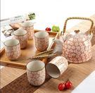設計師美術精品館陶瓷功夫茶具套裝特價竹製...
