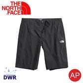 【The North Face 男 彈性防潑短褲《黑》】3GDG/DWR/排汗/防潑水/運動褲/休閒褲/跑步