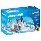 playmobil 極地系列 探險者與北極熊_PM09056