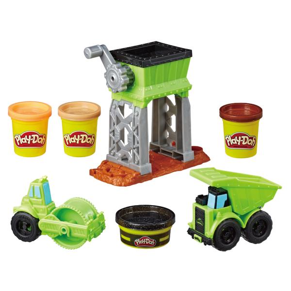 培樂多黏土Play-Doh車輪系列 碎石場遊戲組