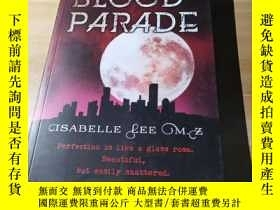 二手書博民逛書店原版英文《BLOOD罕見PARADE》ISABELLE LEE