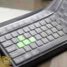 桌上型電腦鍵盤矽膠保護膜 透明鍵盤膜 防塵防水防【FA000】《約翰家庭百貨