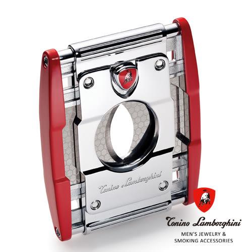 義大利 藍寶堅尼精品 - PRECISIONE CIGAR CUTTER 雪茄剪(紅色) ★ Tonino Lamborghini 原廠進口 ★