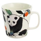 【日本製】毛茸茸樂園系列 瓷器馬克杯  熊貓圖案 SD-6937 - 日本製 毛茸茸樂園系列