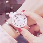 兒童手錶女孩防水初中小學生女童可愛軟妹糖果色果凍小清新電子錶 ZJ1407 【雅居屋】
