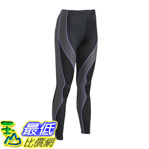 [104美國直購] CW-X 慢跑緊身褲 Conditioning Wear Women s PerformX Tights Black/Grey/Lavender