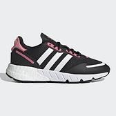 ADIDAS ZX 1K BOOST 女鞋 慢跑 休閒 BOOST+EVA 中底 網布 透氣 黑【運動世界】FX6872