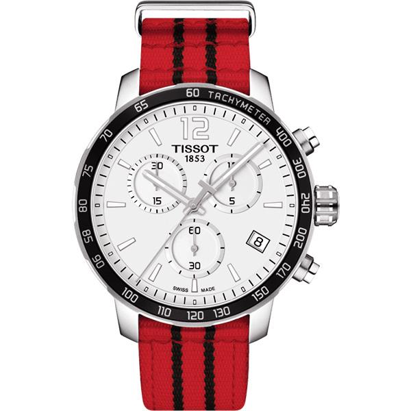 點燃籃球魂 TISSOT 天梭 X NBA 芝加哥公牛隊特別版手錶-42mm T0954171703704