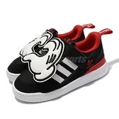 adidas 休閒鞋 Forum 360 C 黑 紅 白 迪士尼 米奇 愛心 童鞋 中童鞋 運動鞋 【ACS】 S29236