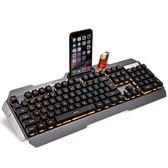 機械手感有線鍵盤台式電腦筆記本曼巴狂蛇家用游戲吃雞YTL