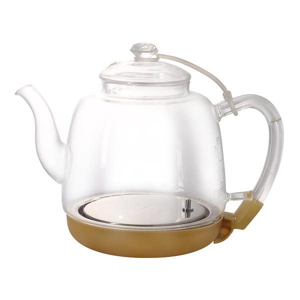 HUSKY哈適奇 智能淨水料理壺專用自動上水玻璃加熱壺1.0L【HC20003】(MI0269S)