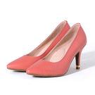 襯托窈窕身型的細高跟鞋必備 尖頭搭配8.5cm跟延伸曲線
