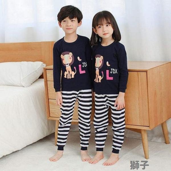 中大童長袖套裝 棉質嬰兒內衣套裝 家居休閒套裝 童裝 ZS10905 好娃娃