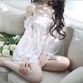夏季性感透視蕾絲情趣內衣服風情女制服套裝