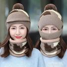 熱賣針織帽 帽子女秋冬天加厚騎車防風保暖韓版毛線帽護耳百搭女士針織帽 萊俐亞