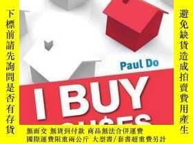 二手書博民逛書店I罕見Buy Houses: The Property Investor s HandbookY410016