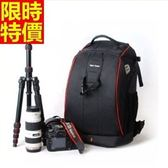 相機包-多功能防水帆布雙肩攝影包4色68ab28[時尚巴黎]