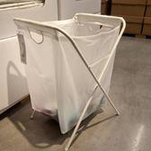髒衣籃  西安宜家 加爾帶架洗衣用袋髒衣服收納洗衣籃 衣物收納筐 LP