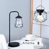 裝飾小夜燈USB暖光燈INS簡約少女心臥室床頭臺燈禮物創意復古 花樣年華