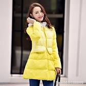 羽絨外套 韓版新款冬季羽絨服女中長款加厚大碼連帽外套時尚顯瘦收腰潮 瑪麗蘇