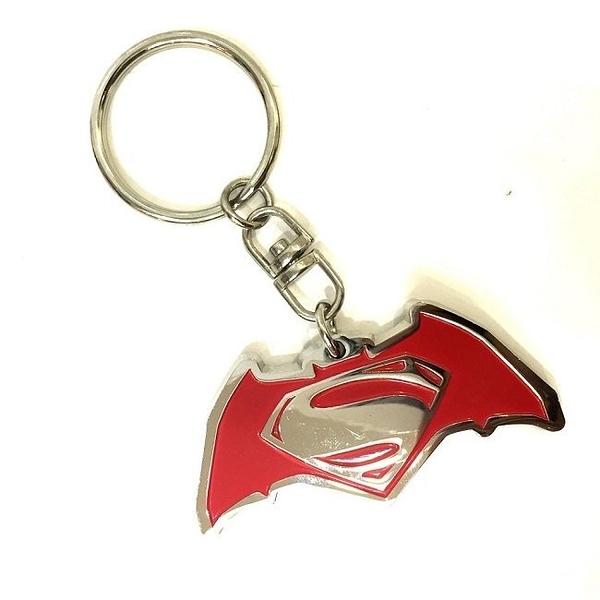 【默肯國際】蝙蝠俠VS超人 紀念合金鑰匙圈 KEYRING BATMAN VS SUPERMAN 金屬鑰匙圈 BVS