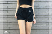 IMPACT Adidas Essentials 3 Stripes Shorts 黑 白 三線 短褲 運動 超辣 BR5963