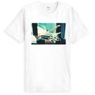 Lomography-guitar短袖T恤-白色 LOMO 照片 相片 吉他 風景 樂團 美國棉