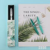 鋼筆金屬桿彩色烤漆特細小美工尖學生練字盒裝禮品筆xy2258『東京潮流』