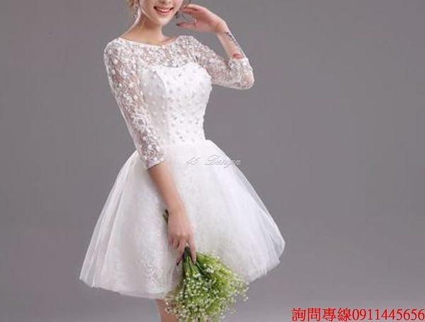 (45 Design) 訂做款式7天到貨專業訂製 中大尺碼短禮服洋裝  禮服訂製手工婚紗禮服 主持表演走秀
