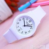 手錶 簡約小清新女生手錶 時尚中小學生石英防水電子腕錶 女孩款韓版錶 可卡衣櫃