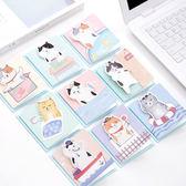 【BlueCat】懶貓小賀卡色鉛筆塗鴉卡片
