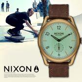 【人文行旅】NIXON | A459-2223 THE C39 LEATHER 復古設計手錶