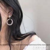 玻璃水晶鋯石精致珍珠無耳洞耳環耳夾耳釘 概念3C旗舰店