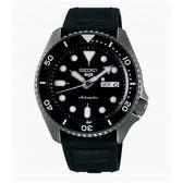 SEIKO 精工 新5號 Sports 系列機械錶4R36-07G0X(SRPD65K3)-黑x銀灰