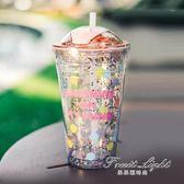隨手杯 tanana吸管杯成人塑料女學生便攜大容量隨手杯韓版網紅水杯ins 果果輕時尚
