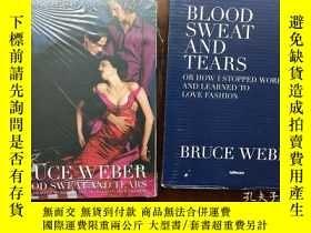 二手書博民逛書店布魯斯•韋伯(Bruce罕見Weber)絕版攝影集 Blood Sweat And Tears 30年時尚圈作品4