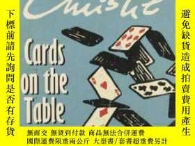 二手書博民逛書店Cards罕見On The TableY255562 Agath