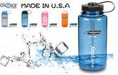 【速捷戶外】NALGENE 2178-1116 彩色寬口水壺(灰藍), 500cc, BPA-free,運動水壺,登山水壺