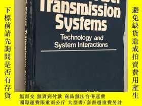 二手書博民逛書店HVDC罕見POWER Transmission systems