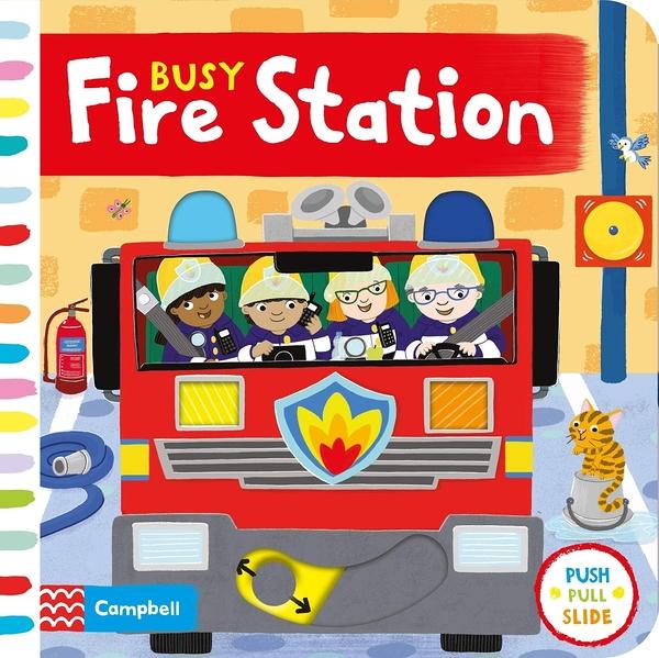 Busy Fire Station 忙碌的消防局操作書