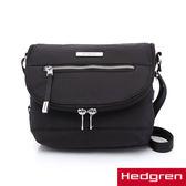HEDGREN - AURA歐拉系列-掀蓋側背包(黑色)