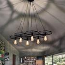 燈飾燈具【燈王的店】愛迪生現代工業風系列 吊燈 6 燈 ☆ 9806612