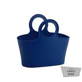 野餐籃臟衣籃沐浴籃日本進口手提購物籃子糖果色菜籃塑料【小檸檬3C】