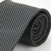【Alpaca】黑底白小點領帶