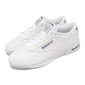 【海外限定】Reebok 休閒鞋 Exofit Lo Clean Logo Int 白 小白鞋 男鞋 女鞋 小白鞋【ACS】 AR3169