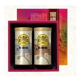 【黑橋牌】素之味禮盒(原味素香鬆罐、海苔芝麻素香鬆罐)