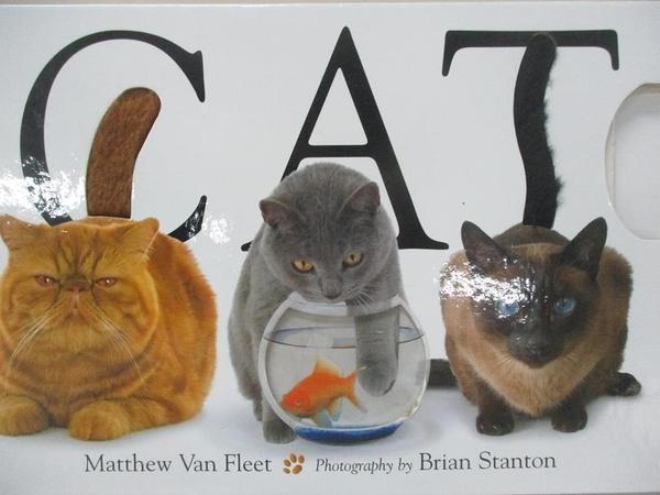 【書寶二手書T9/兒童文學_DPH】Cat_Van Fleet, Matthew/ Stanton, Brian (PHT)
